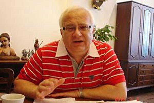 Primátor Boris Hanuščak.