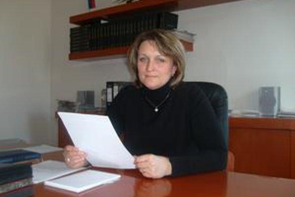 Zdenka Harčaríková. Klientom ponúkajú aj splátkový kalendár.