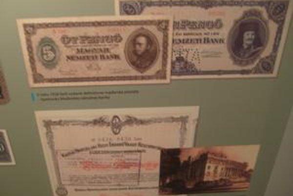 L. Kossuth a F. Rákoci. Ich podobizne sú na bankovkách v maďarskej mene pengö.