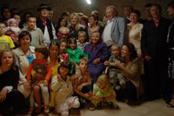Oslavy výročia svadby. Manželia Marhevkovci spolu žijú 70 rokov.