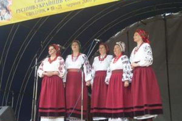 Rodná pieseň. Festivaloví hostia z Ukrajiny.