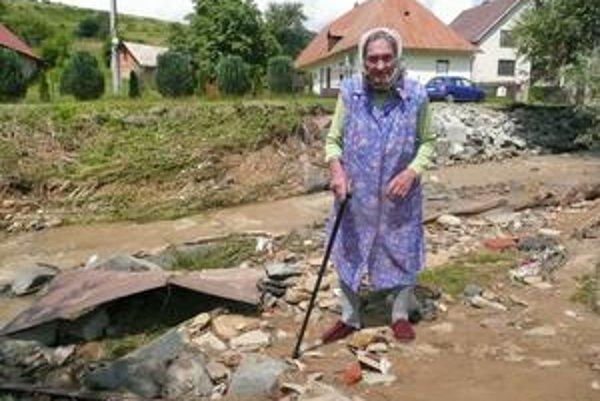 Mária Petrušová z Andrejovej. Mala strach z veľkej vody.