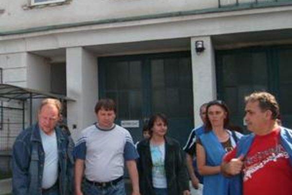Ján Jacko (vpravo). Tvrdí, že štrajková pohotovosť trvá.