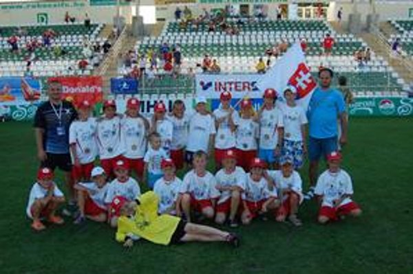 Bronzoví. Prešovské futbalové nádeje skončili v Maďarsku tretie.