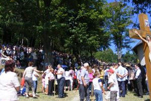 Púť v Ľutine. Je to každoročne najväčšia odpustová slávnosť Prešovskej gréckokatolíckej archieparchie.