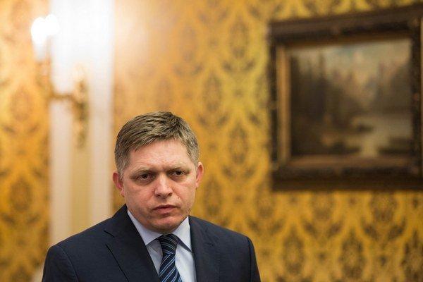 Robert Fico predstúpil pred verejnosť prvý raz od prehry v prezidentských voľbách.