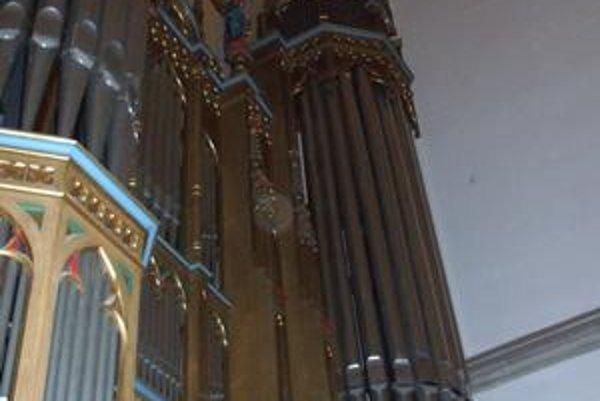 Organ v Bazilike sv. Egídia. Uplynulo sto rokov od jeho slávnostnej kolaudácie.