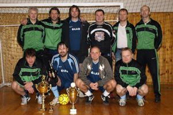 Víťazi. Prešovskí futsalisti kraľovali pod Pustým hradom.