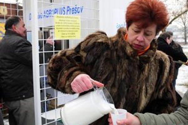 Mliečny automat sa v Prešove rýchlo ujal. Pribudnú aj ďalšie.