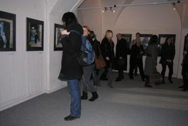 Výstava Anny Ondrušekovej. Mnohé miesta na fotografiách už neexistujú.