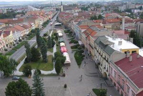 Mesto Prešov. Volení zástupcovia majú v rukách obrovský majetok.