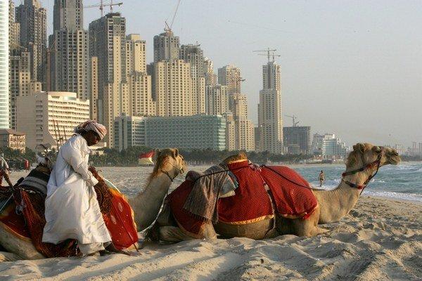 Naši dovolenkári odlietajú do Dubaja  najčastejšiez viedenského letiska.