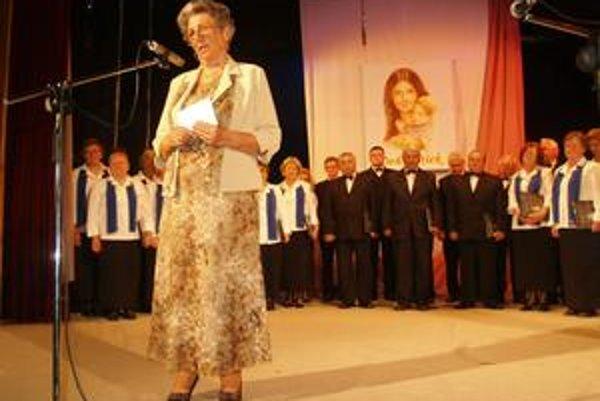 Ocenenie. Júlia Jagerská zvládla ťažký životný osud.