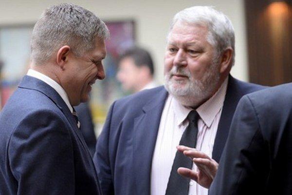 Robert Fico a Vladimír Soták.
