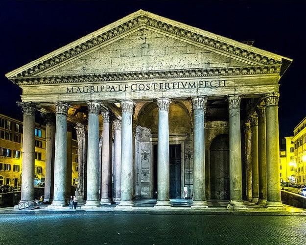 Panteon, Rím.