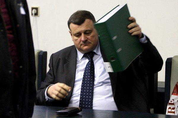 Štefan Duč na súde.
