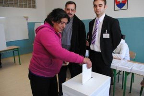 Helena Balogová volila 11. Názov strany nepoznala, priznala nám.