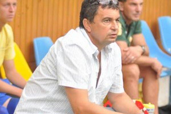 Vladimír Rusnák mladší. Nový tréner treťoligového Slavoja Trebišov.