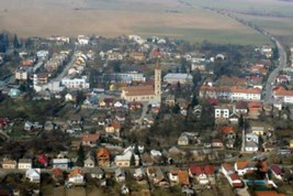 Mesto Sečovce.