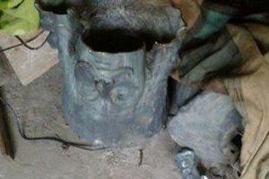Ukradnutá a poškodená socha Františka Rákociho II.