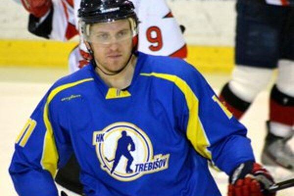 Matúš Petričko rozhodol v nájazdoch. Vďaka jeho gólu vyrovnal Trebišov stav série.