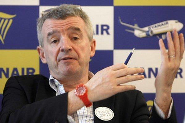 Šéf spoločnosti Ryanair Michael O'Leary.