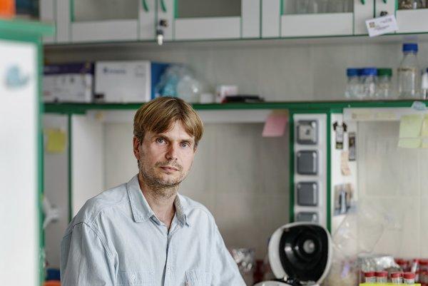 Docent Juraj Gregáň z Univerzity Komenského v Bratislave.