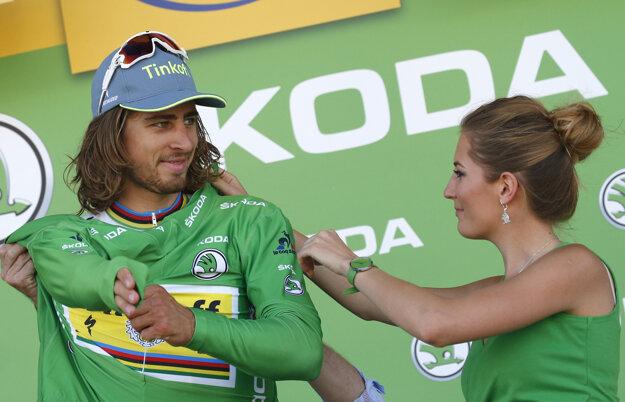 Peter Sagan útočí na zisk piateho zeleného dresu za sebou.