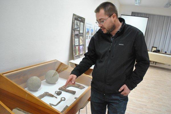 Archeológ Mário Comisso.