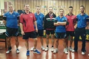 Stolní tenisti Šarišských Michalian.