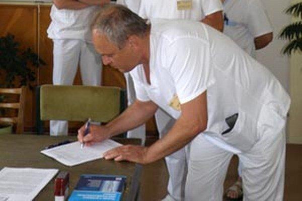 Petícia odštartovala v bojnickej nemocnici koncom júna minulého roka.