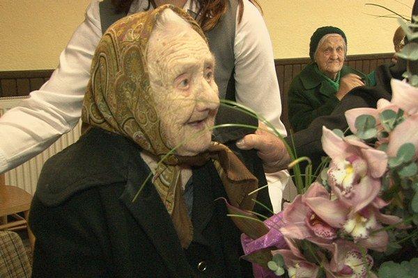 M. Wagnerová. Oslávila 105. narodeniny.