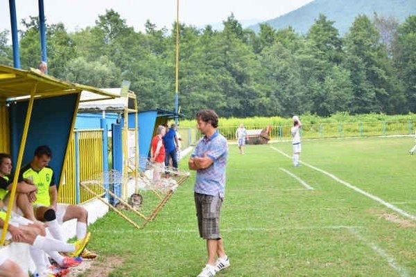 Návrat? Tréner B. Kuzma bol v sobotu na lavičke MFK Rožňava. Či však natrvalo, to sa ukáže v najbližších dňoch.