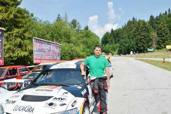 Vlastimil Majerčák počas tréningových jázd na Dobšinskom kopci.