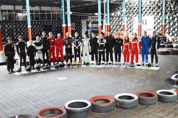 V Plešivci sa v rámci MSR v Indoor kartingu zišlo 18 jazdcov.
