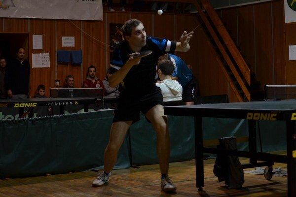 S bolesťami. Martin Gumáň bojoval nielen so súpermi, ale hlavne s boľavým chrbtom.