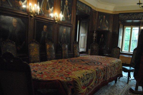 Renesančný obrus priťahoval pozornosť návštevníkov.