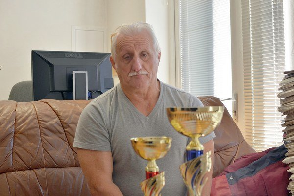 Úspešný rekordér. Jozef Völgyák.