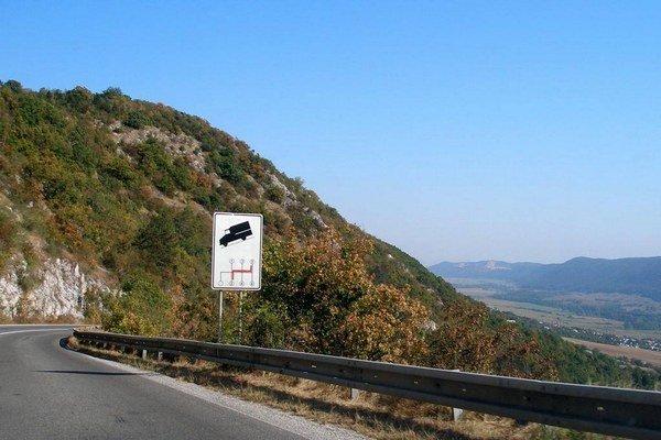 Horský priechod Soroška.