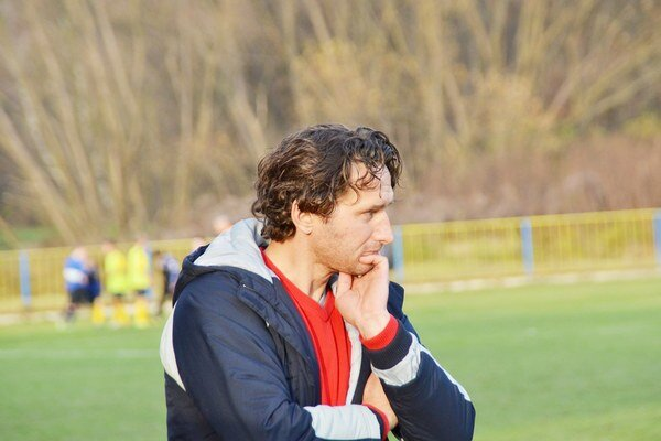 Tréner áčka SP MFK Rožňava Branislav Kuzma.