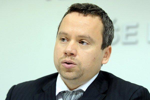 Viceguvernér NBS Ján Tóth.