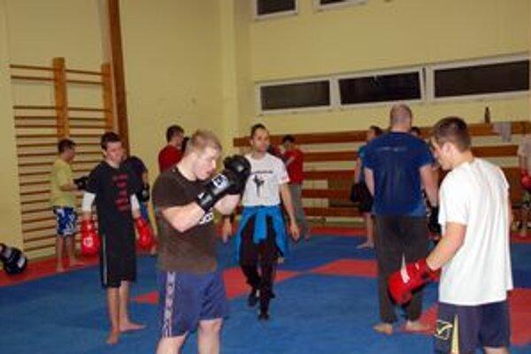 Kickbox našiel svojich fanúšikov aj v Rožňave.