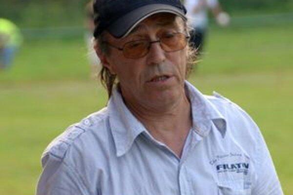 Tréner Ladislav Teleczki.