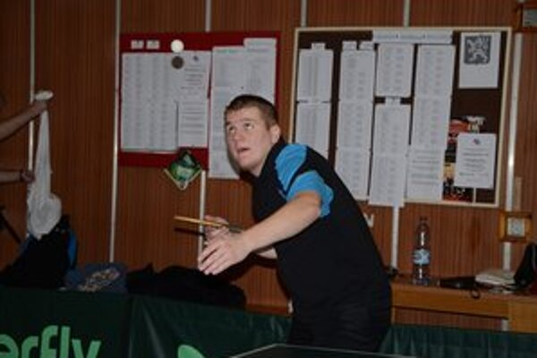 Martin Paľovčík. Stolný tenista rožňavského Geológa.