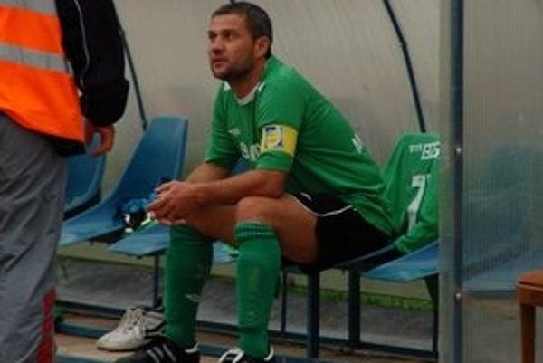 Miloš Gallo ako hráč. Prednosta je aj aktívny futbalista.