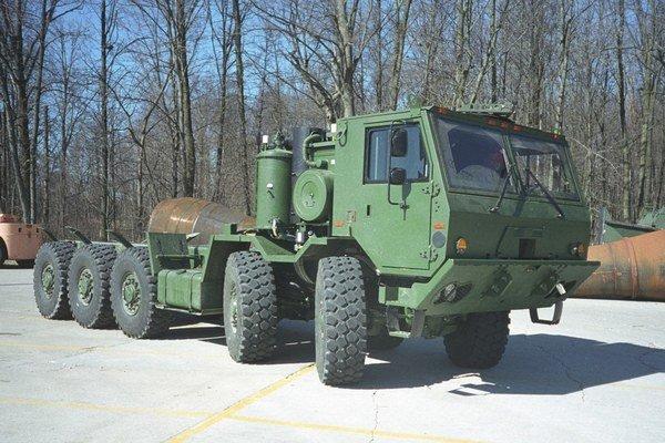 Tatra vyrába aj armádne stroje.