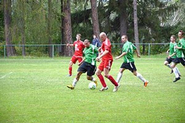 Zavelil do útoku. O prvý gól Betliara sa postaral Zsolt Barkasz.