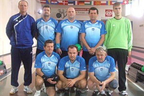 Jelšavskí kolkári. Prvoligové mužstvo MKK Magnezit Jelšava.