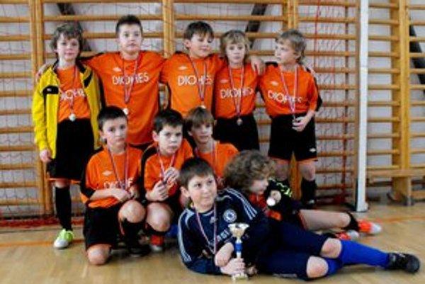 Talenty. Prípravkári roč. nar. 2003 získali na turnajoch jedno prvé a dve druhé miesta.