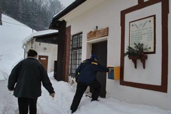 Obecné múzeum susedí hneď s obecným úradom.
